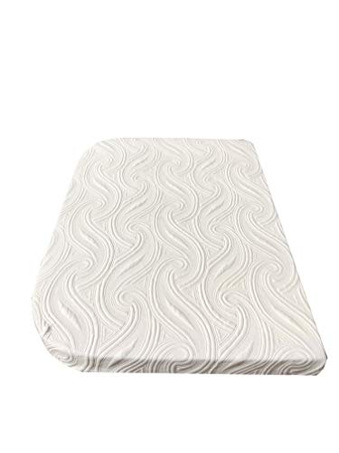 """Price comparison product image Casita Mattress 54"""" x 76"""" with Curve (Replaces Your dinette Cushions for a Permanent Sleeping Space)"""