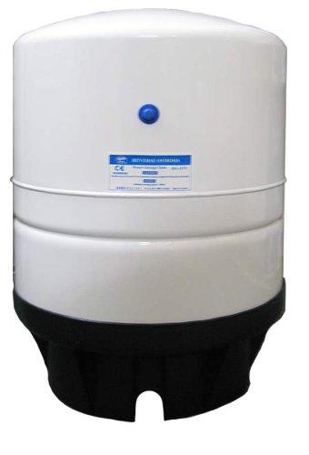 PAE (RO-1070) 14.0 Gallon Metal Storage Tank 3/4'' NPT; White by TGI Pure