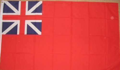 Colonial Eyelet (Colonial Red Ensign British Navy Naval 5'x3' Flag)