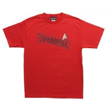 Star Trek Red EXPENDABLE T-Shirt