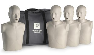 New Prestan Child CPR-AED Training Manikin 4-Pack