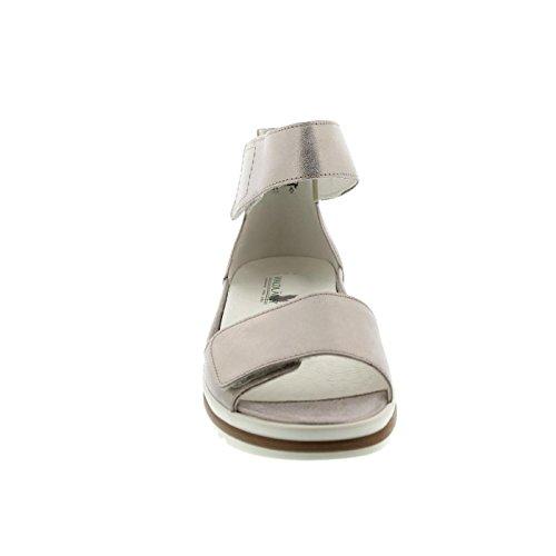 131 Skin 139 Sandalettes 351005 Femmes argenté Skin qnwHxCaU