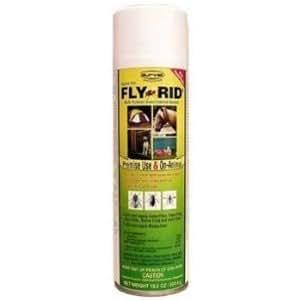 Fly-Rid Aerosol Insect Spray for Horses 18.5 oz.