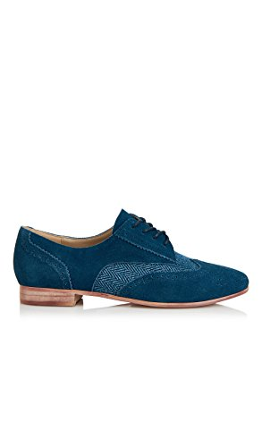 Yull Bleu Derbies Shoes Yull Femme Shoes azwqgx7nR1
