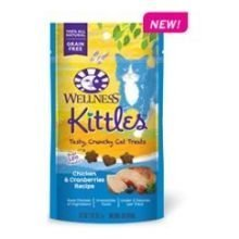 Kittles Chicken and Cranberries Recipe Cat Treats, 2 Ounce -- 14 per case. by Wellness Natural Pet Food ()