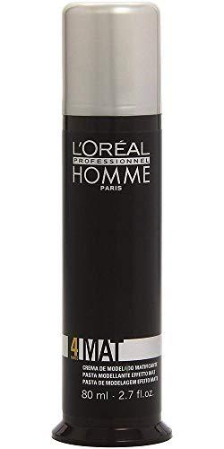 (L'Oreal Homme Mat Matte Sculpting Pomade, 2.7 Ounce )