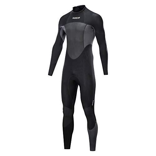 1.5 mm Neoprene Wetsuit for Men | Full Body Long Sleeve | Thermal Protection | for Scuba Diving Surfing Fishing Kayaking Swimming (XXL)