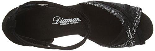Damen Zapatos Diamant Standard Diamant Schwarz Tanzschuhe 064 para Latino 139 035 amp; Negro Latein de Mujer Baile 1qx5xC