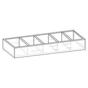 5 Compartment Acrylic Bin