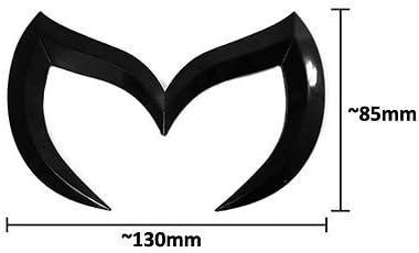 04-11 MAZDA RX-8 EVIL /'M/' REAR TRUNK EMBLEM BADGE GLOSS BLACK