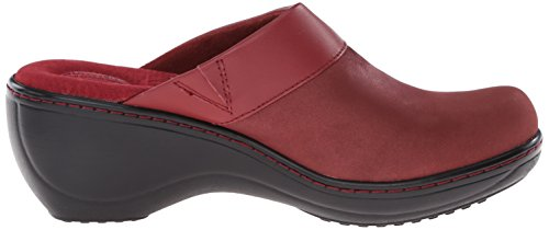 Red SoftWalk Murietta Mule Women's Distress wBOzZB