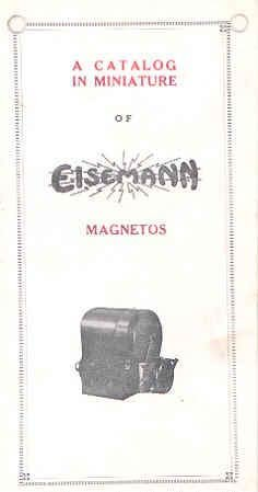 Amazon com: 1918 Eisemann Magneto Brochure Automobile