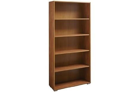 Libreria scaffalatura componibile 5 spazi vani legno ciliegio LB1629 ...