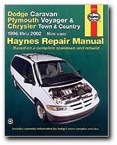 - Haynes Dodge Caravan Plymouth Voyager and Chrysler Town and Country Mini-vans (96 - 02) Manual