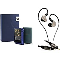 Astell&Kern AK240 BlueNote 75th Anniversary Limited Special Edition High Resolution Audio Player with Extreme Audio A83 FB In-ear Monitor Earphones by Fidue Acoustics and Optical Audio Connection Kit