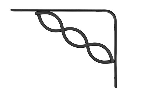 rubbermaid shelf bracket black - 2