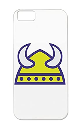 Tpu Navy Case For Iphone 5c Scandinavia Viking Culture Helmet Cold