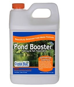 (Crystal Blue Pond Booster - Royal Blue Pond Dye & Bacteria Combo - 1)