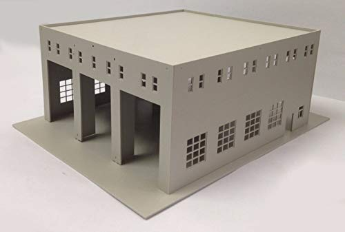 outland models Railway Layout Model Train Engine House (3 Stall) HO Scale 1:87