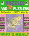 Puzzles and Puzzlers, Owl Magazine Editors, 0920775675