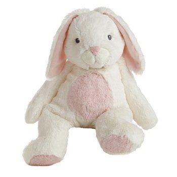 Bun Bun the Plush White and Pink Bunny Quizzies Stuffed Anim