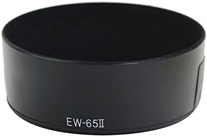 MeterMall Electronics Bayonet Camera Lens Hood for Canon EF 35mm f//2//EF 28mm f//2.8 Lens Replaces EW-65II