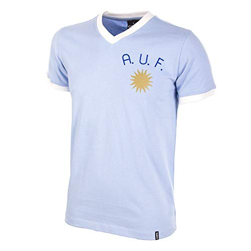 COPA Football – Camiseta Retro Uruguay años 1970 (XXL)