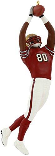 - FOOTBALL #9 - JERRY RICE 49ERS 2003 Hallmark Ornament QX2457