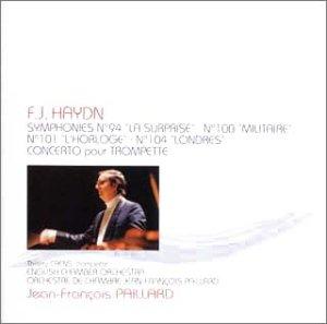 ハイドン:交響曲第94番「驚愕」、100番「軍隊」、第101番「時計」、第104番「ロンドン」&トランペット協奏曲 B00006RTOQ