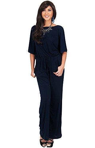 KOH Womens Sleeve Jumpsuit Playsuit product image