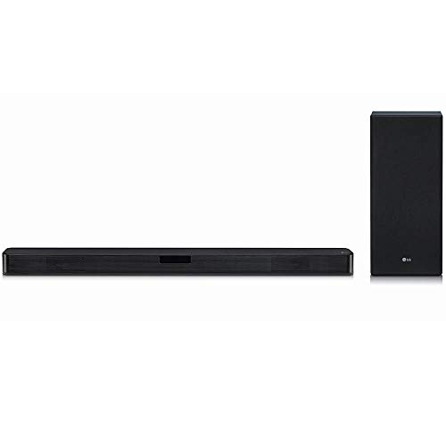 LG SL5Y 2.1 Channel High Resolution Sound Bar w/ DTS Virtual:X, Black (Lg Smart Tv Speakers)
