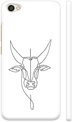 Colorpur Jallikattu Line Drawing On White Printed Back Amazon In