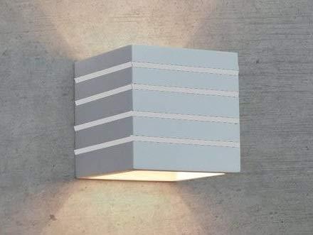 Abm srls applique da parete moderno in gesso ceramico