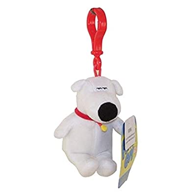 Commonwealth Toys Family Guy Plush Back Pack Clip On Brian: Toys & Games