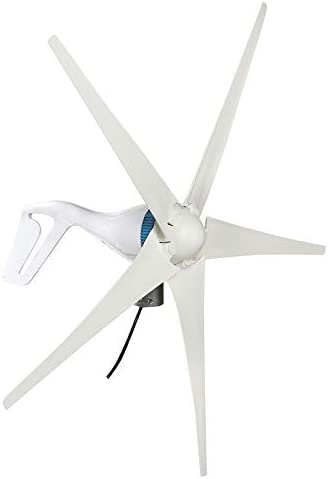 400W / 600W Windgenerator 5 Blades Horizontal Wind Turbines Generator Energieanlagen Lade mit Fernbedienung für Home Camp 12V / 24V / 48V,600W 48V