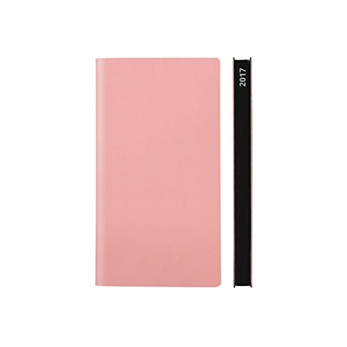 2017 Daily Planner Calendar by Daycraft Signature - Pocket Size Pink (D131P) - 6.5