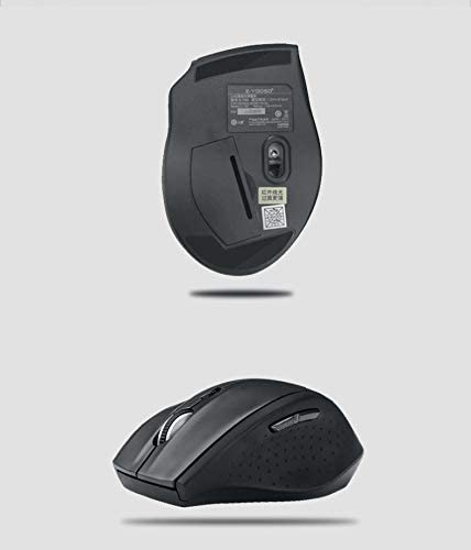 Yalehabi Wireless USB Keyboard and Mouse Slim Combo Set Competible Competible for Gaming Computer