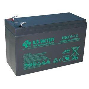 B.B. Battery 12V 8Ah Battery, T2 Terminal HRC9-12-T2, High Performance