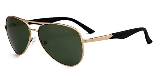 4cf5f4295c DRAGON CHARM Aviator Metal Frame Sunglasses Polarized UV400 Protection  AM2360 - Buy Online in Oman.