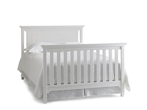 Ti Amo Convertible Crib, Snow
