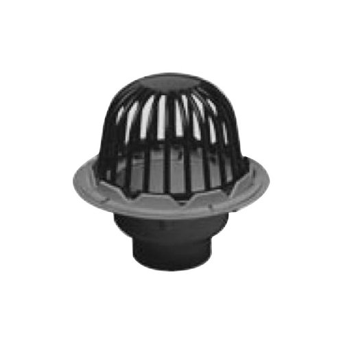 - Oatey 78012 PVC Roof Drain with Plastic Dome, 2-Inch