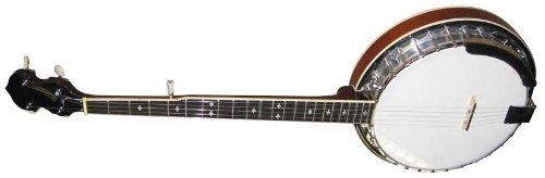 Stagg BJM30 LH Left-Handed 5-String Bluegrass Banjo with Metal Pot