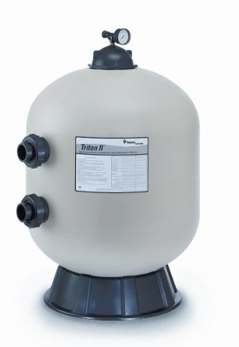 Pentair Triton II Side Mount Filter TR100 Fiberglass Sand Filter without Valve