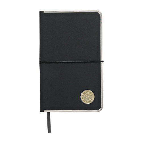 NCAA Iowa Hawkeyes Adult Hard Cover Journal, One Size, Black ()