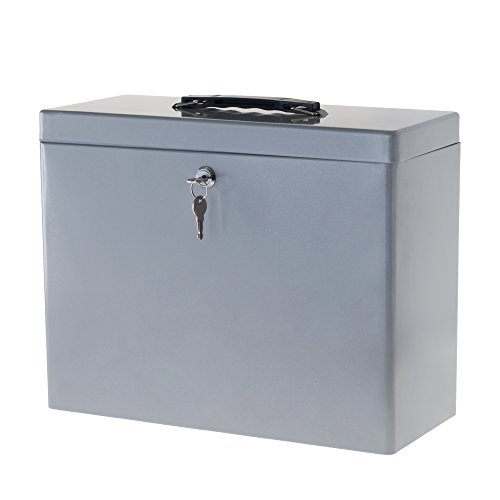 steel box with lock - 4
