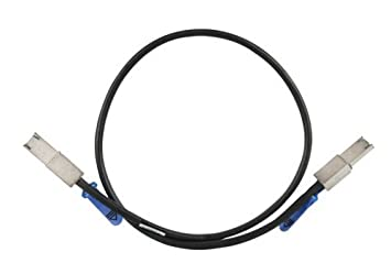 Adaptec 2231500-R ACK-E-mSASx4-mSASx4-2M R External Mini Serial Attached SCSI x 4 (SFF-8088) to x 4 (SFF-8088) Mini Serial Attached SCSI Cable - 2M