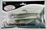 見事な 灯台ルアースーパーLure Swim B07C5ZKPKG Baits Green forサーモン、ベース、Pike Green、LingcodとRockfish B07C5ZKPKG Green Silver Green Silver, アオガシマムラ:dd978e38 --- a0267596.xsph.ru