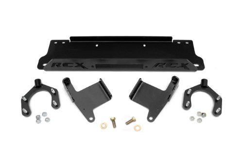 Rough Country - 1162 - Factory Bumper Winch Mounting Plate for Jeep: 07-18 Wrangler JK 4WD, 07-18 Wrangler Unlimited JK 4WD/2WD