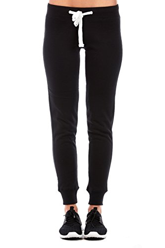 Reflex Jogging Pants w/ Fleece Lining (l, black) Black Fleece Skinny Pant