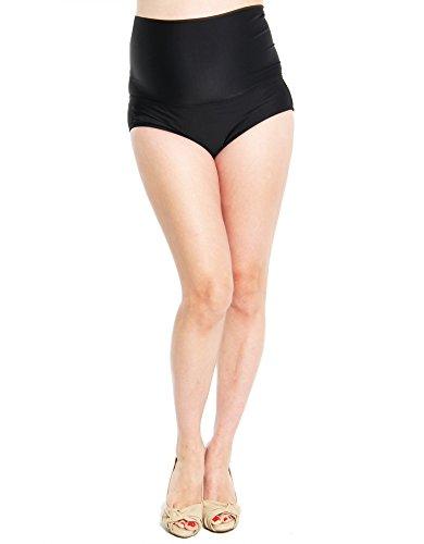 Oceanlily Over The Belly Maternity Bikini Bottom Black L